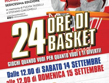 Tutto pronto per la  24 Ore di Basket