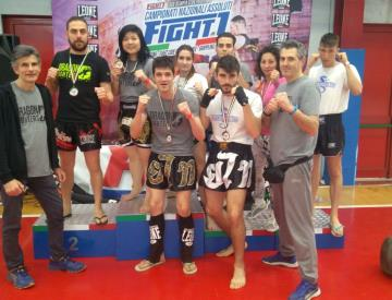 Dragon Fighters Team ottima prestazione ai recenti Campionati Nazionali di Kickboxing