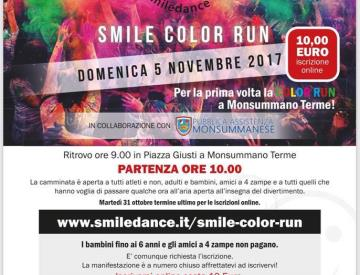 Hai voglia di colorare la tua giornata? Smile Color Run