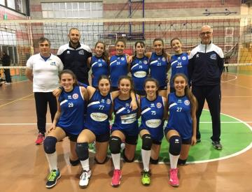 Ctt Monsummano volley femminile, per l'Under 14 tre vittorie su tre e primo posto in campionato