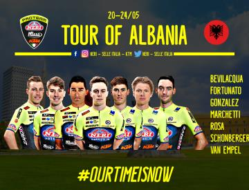 Neri Sottoli - Selle Italia – KTM: al via al Tour of Albania