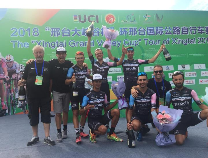 AMORE & VITA | PRODIR: Vince la classifica a squadre del Tour of Xingtai in Cina