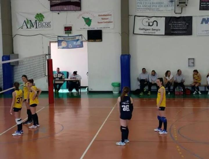 L'Under 16 Uisp Upv Buggiano batte 3 a 2 il Viva Volley