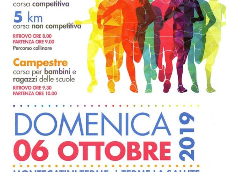 DOMENICA A MONTECATINI TERME LA 5^ AVIS RUN MONTECATINI