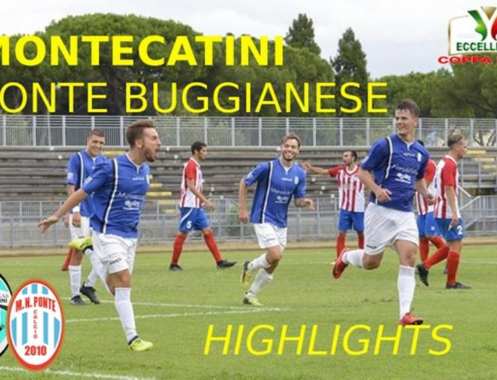Gli highlights di Montecatini - Ponte Buggianese