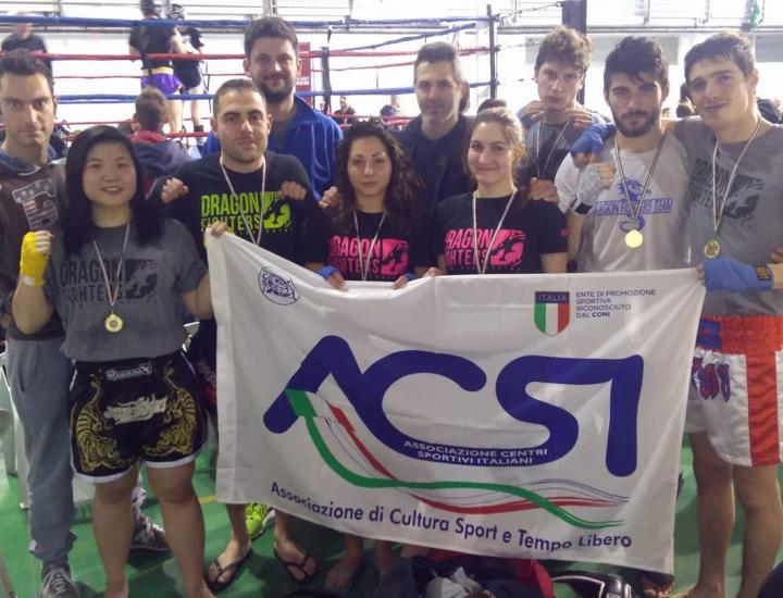 Dragon Fighters Team protagonista alla Coppa toscana di Kickboxing