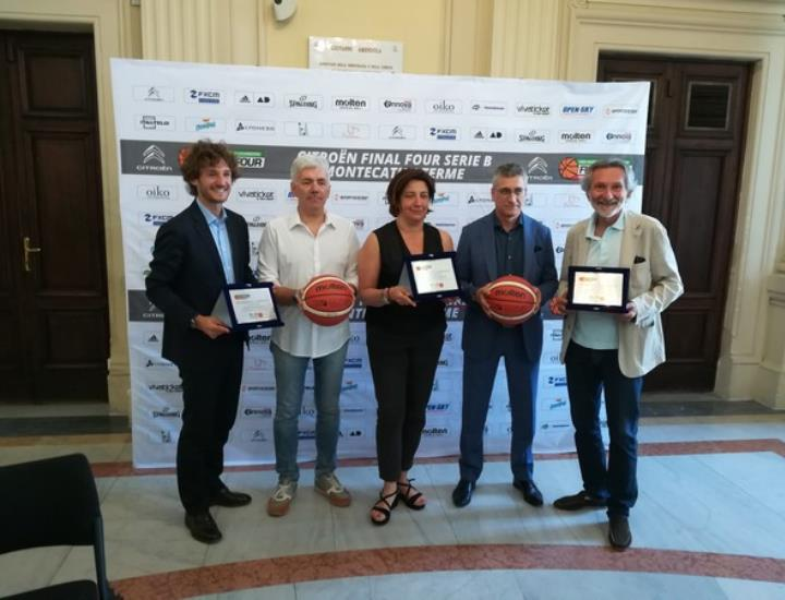 Presentata a Montecatini la Citroën Final Four Serie B 2017