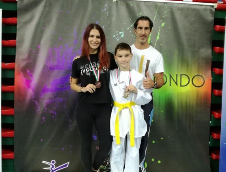 Dream Team vincente al Tuscany Open 2018 interregionale di Taekwondo