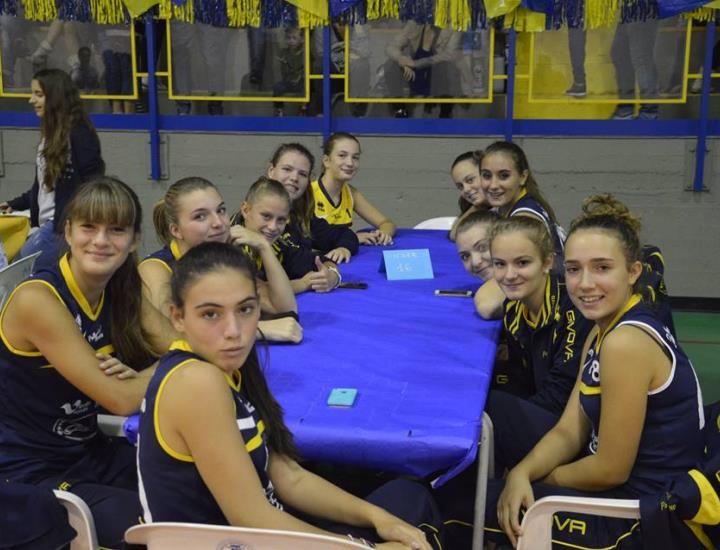 Upv, scivolone dell'Under 14 a Bottegone