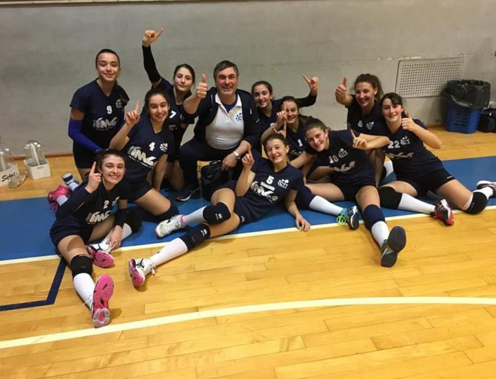 Ctt Monsummano, l'Under 14 vince il Volley Cecina Cup