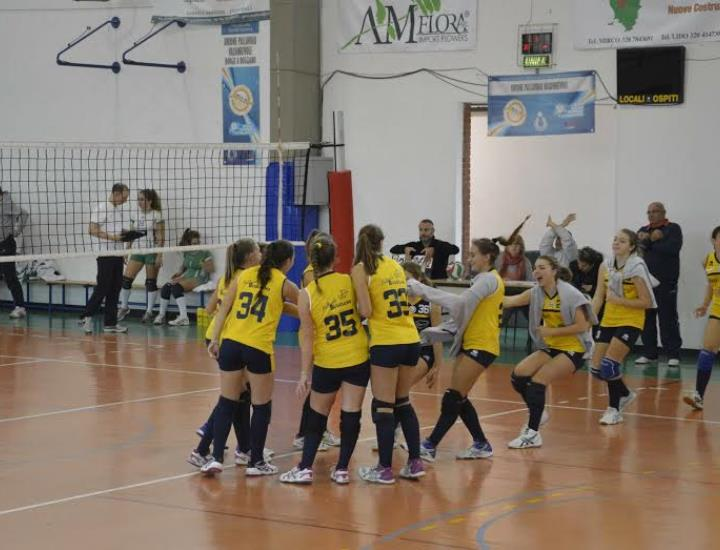 L'Under 16 Upv Buggiano supera 3-0 il Chiesina Volley